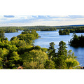 Another view of Lake of the Woods from my hotel room  With the small city of Kenora as temporar...
