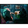 bearded dragon guitar posters bar