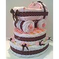 Baby Carriage Diaper Cake Base