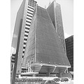 paulista evenue fiesp bulding sao paulo black and white