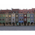 Poznan, old town - vendor tenement houses 