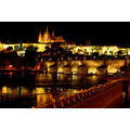 prague vltava charles bridge reflectionthursday