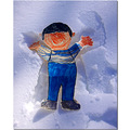 still life character book children humor snow winter