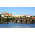 prague vltava charles bridge st vitus