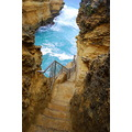 australia ocean cliffs blue