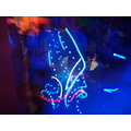 rave tilt rochester newyork nightclub bar party light trails red green blue