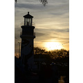 seaworld orlando florida lighthouse sunset