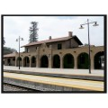 End of Santa Barbara series. Train depot. Still very much active. One day is just not enough. I'l...