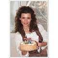 girl woman wife birthday cake smile beauty face Bulgaria nikon sigma sb600