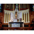 StAnneDeBeaupre Quebec Canada basilica shrine church miracles sculpture