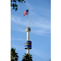 seaworld orlando florida tower flag