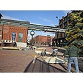 Distillery District Distillery construction Christmas Market vendors