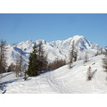 Skiing French alps Christmas Snow