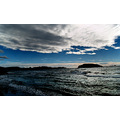 greece lagonisi sea sky clouds cpl filter