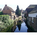 Nature River City Canterbury England mirror