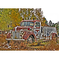 dok1 1941 1941Ford fireengine firetruck GoldHillColorado USA Colorado