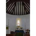 15. St Swithun's Nately Scures Parish Church has a most unusual semicircular apse