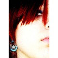 red hair face
