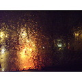 rain water light yellow orange red wet 2008 night