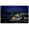 leros island by night greece aegean vacations