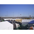 Daytona tent city orange lot 2142009 infield