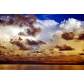 seascape clouds sky nature sea ocean
