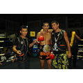 Tiger Muay Thai training camp Phuket Thailand clinch training