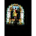 stained glass church