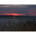 Windy and scary september-evening at lake Keitele