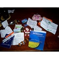 What you might find in a girl's handbag