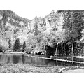 hanging lake glenwood canyon colorado along interstate 70