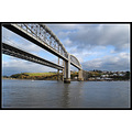 Tamar Bridge Devon Cornwall border