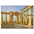 syria palmyra architecture colonnade ruins hdr syrix palmx archs colos