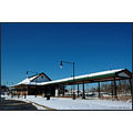 stlouis missouri us usa architecture bus station Metro snow 2007