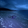 mask guild landscape beach ireland blue composition handmade art design keit