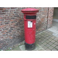 york olde pillar box
