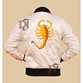 Movie Drive Scorpion Jacket Ryan Gosling Fashion Outwear Outfit Leather