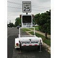 speed limit radar stationary warn scare