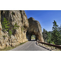 blackhills southdakota landscape needleshighway tunnel