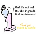 cartoon bigheads first anniversaire