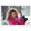 girl woman wife model portrait outdoor fog winter nikon sigma sb600 Bulgaria