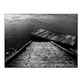 bw stairs danube river