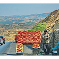 pomegranate salesman cars mountains