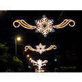 street lights christmas torremolinos andalucia spain home