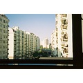 view from bedroom window shanghai..2003