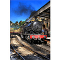 HDR North_York_Moors_Railway Pickering