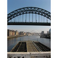 tyne bridge off the swing bridge