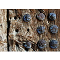 detail wooden door ohrid macedonia