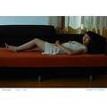 beijing girl lady sofa indoor rose beauty dream
