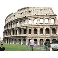 glenn standing out the front of colloseum